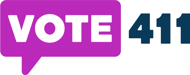 Vote411.org Logo Link