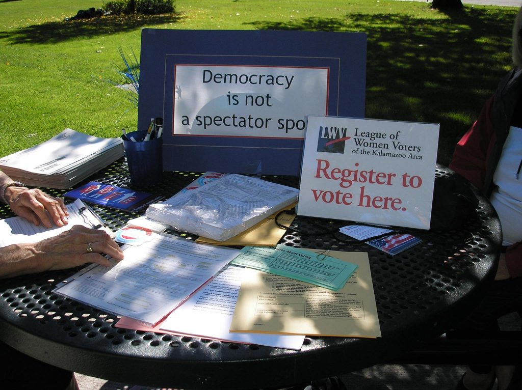 Voter Registration Table